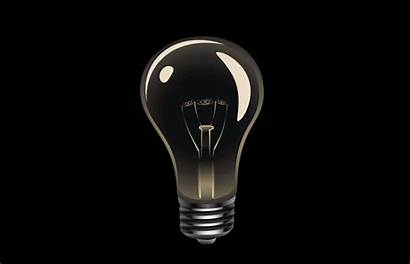Bulb Lamp Gifs Lights Flicker Animated Why