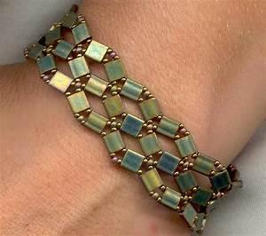 Pdf Crossroads Bracelet With Tila Beads Instructions