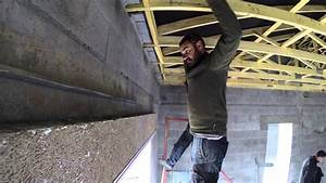 Poser Placo Mur Avec Rail : plafond placo ba13 premi re tape pose des corni res p riph riques youtube ~ Melissatoandfro.com Idées de Décoration