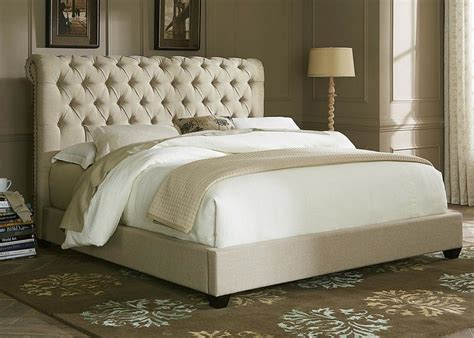 Bed Frame With Fabric Headboard by Bedroom Cal King Size Padded Platform Bed With Tufted