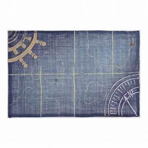 Set De Table Bleu : set de table sinamay bleu marine boussole 1001 d co table ~ Teatrodelosmanantiales.com Idées de Décoration