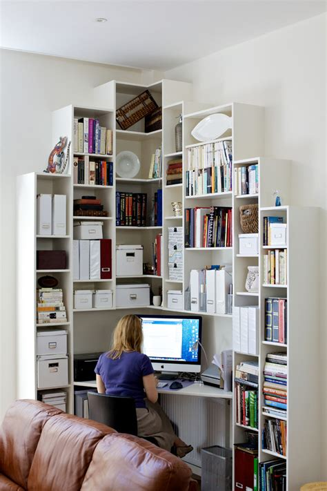 office shelving ideas 57 cool small home office ideas digsdigs