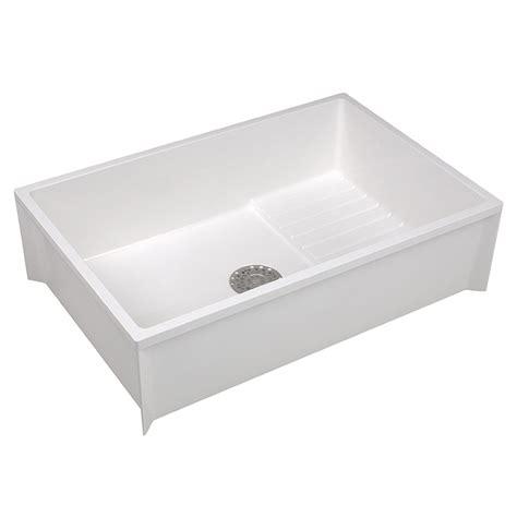 Mustee Corner Mop Sink buy mustee 65m mop sink 36 quot l x 24 quot w riverbend home