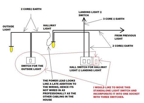 lighting problems   hallway diynot forums