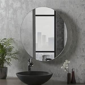 Round, Bathroom, Mirror, 60cm, X, 60cm