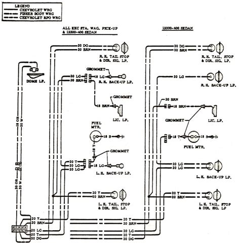 1968 Chevelle Wiring Harnes Diagram by 1968 Chevelle Wiring Diagrams