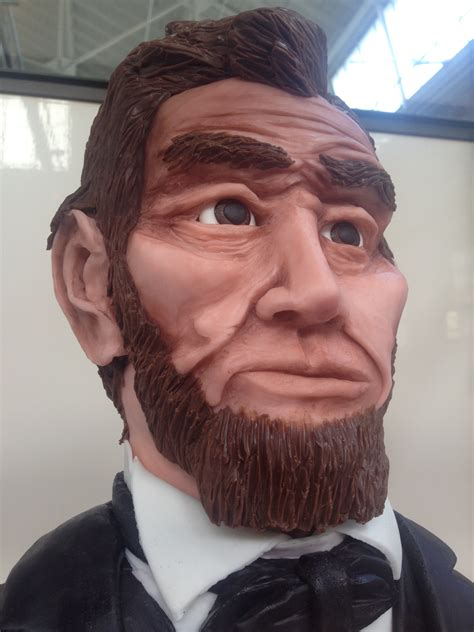 abraham lincoln the modeling chocolate man melod 237 a