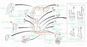 2007 Subaru Forester Bracket  Wiring  Main  Harness  Front  Electrical