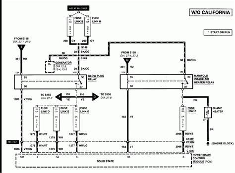 Power Stroke Glow Plug Problem How Fix Diesel