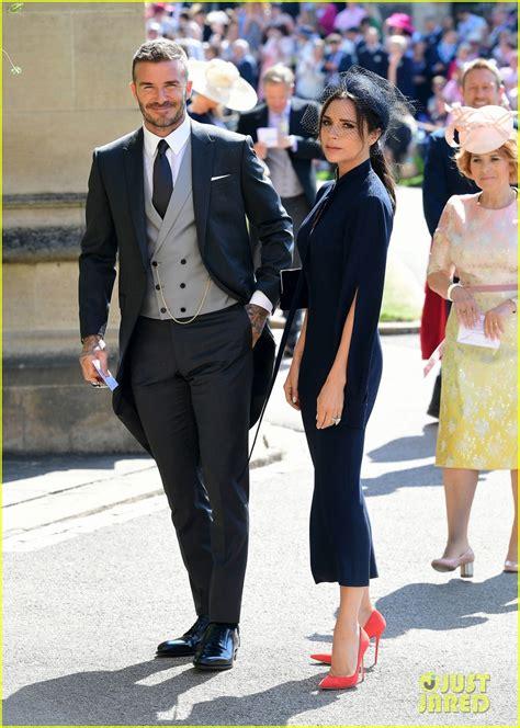 david victoria beckham attend   royal wedding