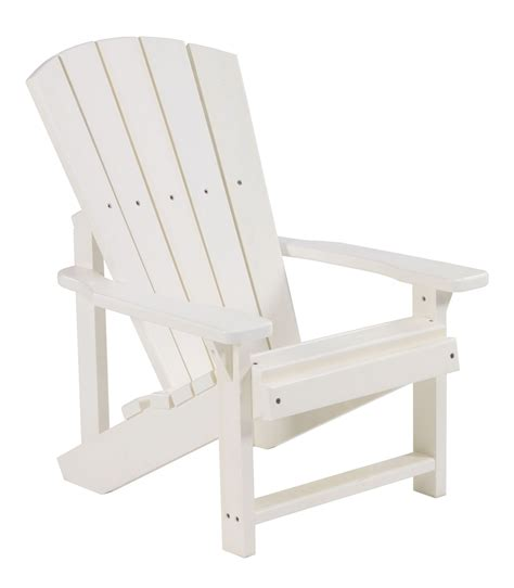 Childrens Adirondack Chair White by Generations White Adirondack Chair From Cr Plastic