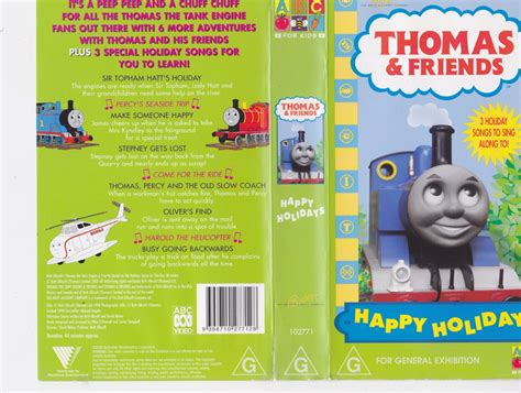 the tank engine happy holidays vhs pal a find ebay