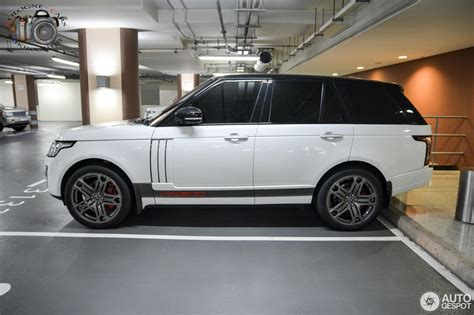 land rover range rover vogue rs  project kahn
