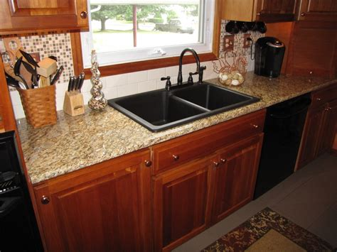 composite kitchen sinks lowes granite composite sinks kitchen traditional with cherry