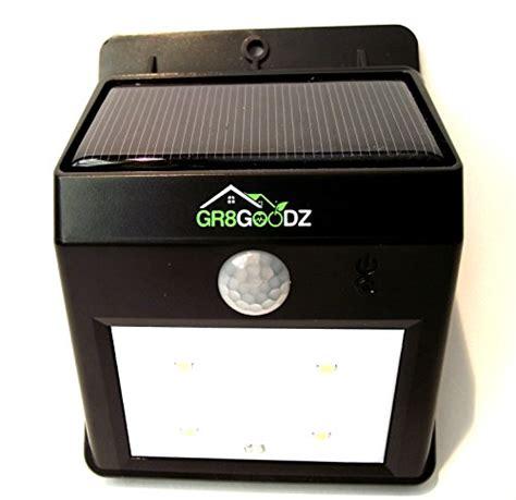 outdoor security led motion sensor light solar bright