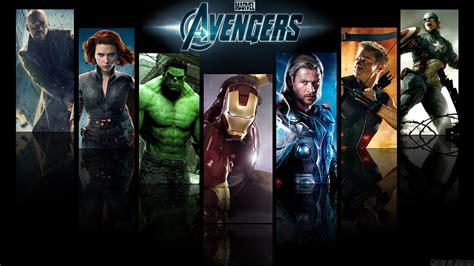 Wallpaper The Avengers Hulk Black Widow Nick Fury