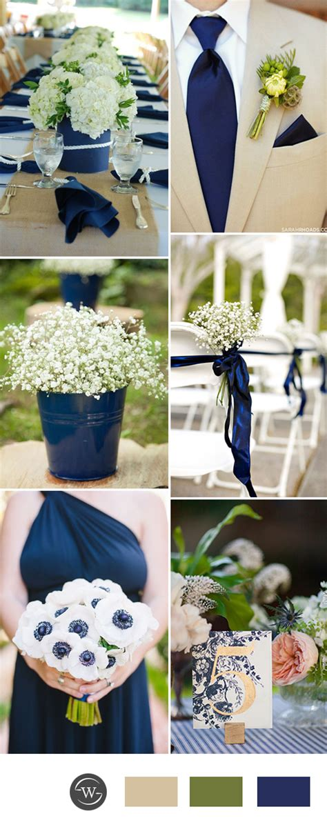 navy blue wedding color schemes stunning navy blue wedding color combo ideas for 2017