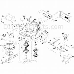 Shanks 553hrs  553hrs  Parts Diagram  Deck  Transmission