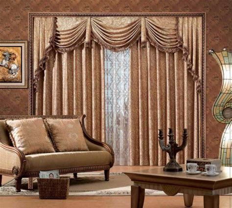 Living Room Curtain Designs  Home Interior And Furniture