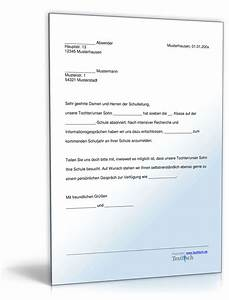 Einverständniserklärung Reise Kind Muster : anmeldung schule muster zum download ~ Themetempest.com Abrechnung
