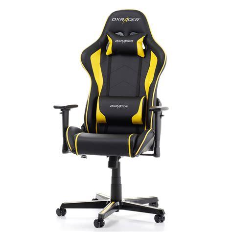 siege gamer dxracer formula fh08 jaune siège pc dxracer sur ldlc com