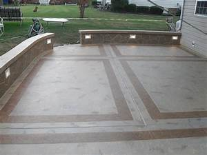 Concrete Patio Design Contractor, Ashburn Northern VA & DC