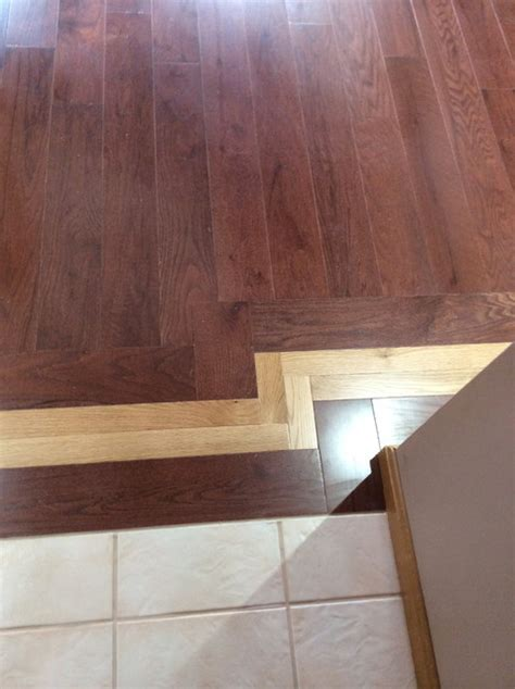 two tone wood floor two tone hardwood floor with mosaic inlay