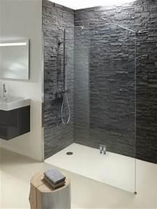 Douche À L Italienne Moderne : 1000 images about parements pierre on pinterest design ~ Voncanada.com Idées de Décoration