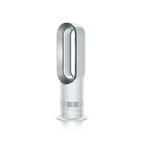 dyson am09 cool fan heater dyson cool am09 white nickel fan heater