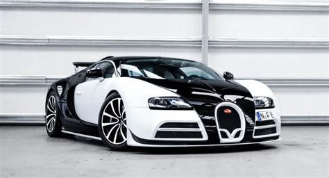 Panda-colored Bugatti Veyron Mansory Vivere Is One Of Two