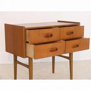 Meuble Rangement Scandinave : meuble entree rangement appoint vintage scandinave la maison retro ~ Teatrodelosmanantiales.com Idées de Décoration