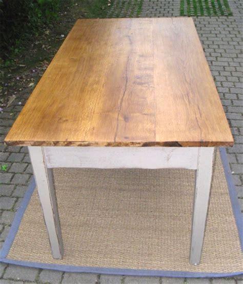 table cuisine chene superbe table de cuisine avec plateau chêne 2 grands