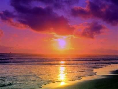 Miami South Sunset Florida Beaches Sunsets Desktop