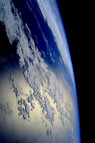 International Space Station From Earth