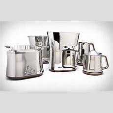 Chrome Kitchen Appliances  Krups Silver Art