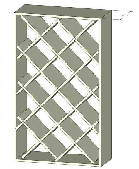 wine rack plans shaped wine rack construction