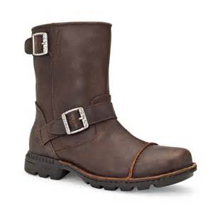 ugg mens boots sale uk ugg australia rockville ii mens biker pull on boots ugg australia from charles clinkard uk