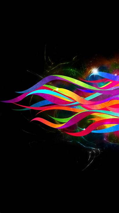 Wallpapers Xperia Iphone Screen Lock Colorful Abstract