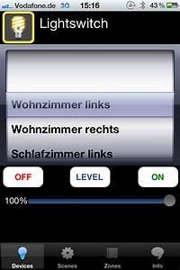 Lichtsteuerung Per App : home automation lichtsteuerung mit dem iphone ~ Watch28wear.com Haus und Dekorationen