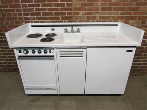 all in one kitchen sink and stove dwyer vintage kitchen kitchenette stove sink refrigerator