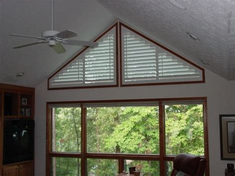 triangle windows windows pinterest window coverings