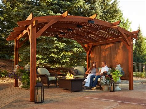 cast wicker sonoma 16 ft pergola