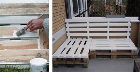 come costruire una panchina in legno tavoli e panche con bancali