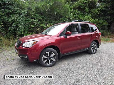 subaru forester red 2017 2017 subaru forester research webpage