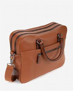 lyst ted baker leather document bag in brown for men With mens leather document bag