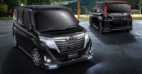 Toyota Roomy And Tank Receive Bold Trd Upgrades