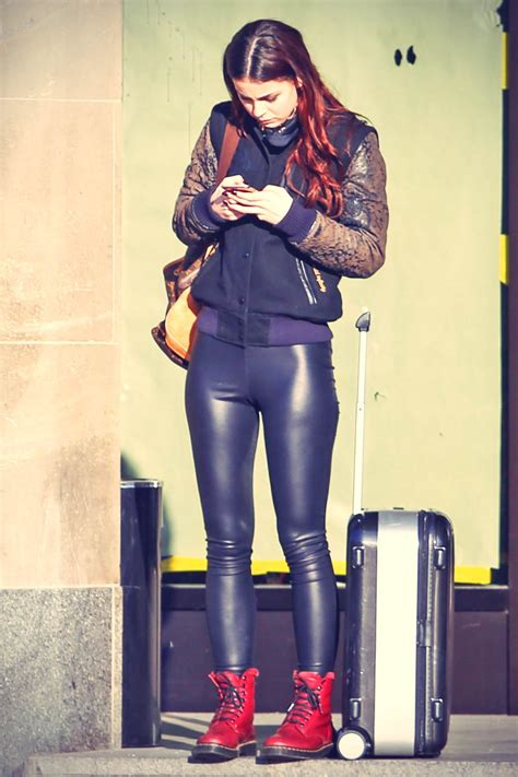 lena meyer landrut     berlin leather