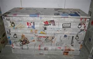 Möbel Mit Folie Bekleben : schr nke mit papier bezogen decoupage technik recyclingkunst und der versuch langsam und ~ Bigdaddyawards.com Haus und Dekorationen