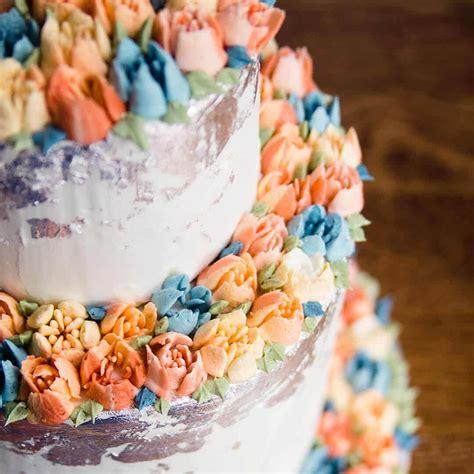 russian piping tips tutorial  wedding cake ashlee
