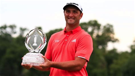 He was the world number 1 in the official world golf ranking, having first achieved that rank after winning the memorial tournament in july. Jon Rahm: Golfer wins Memorial to secure No. 1 ranking - Sports Illustrated